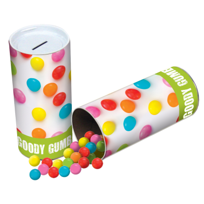 Picture of Candy Gumballs Bank with Candy