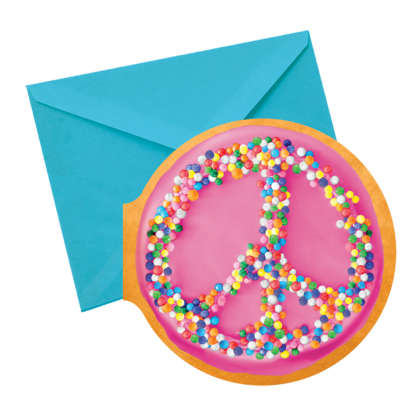 Picture of Peace Donut Scented Notecards