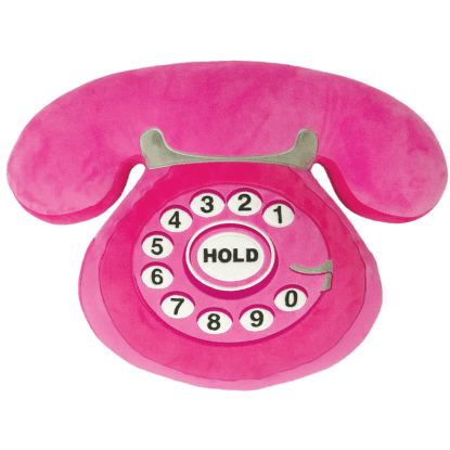 Picture of Telephone Embroidered Pillow