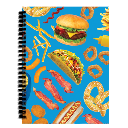 Picture of Junk Food 3D  Journal