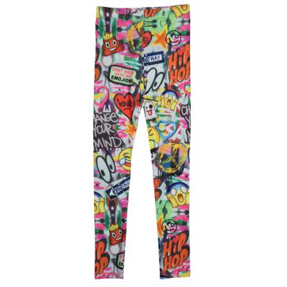 Picture of Emoji Graffiti Leggings