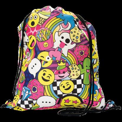 Picture of Emoji Party Drawstring Bag