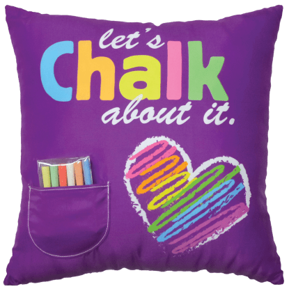 Picture of Chalk Pillow