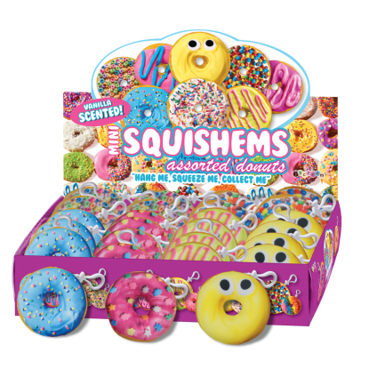 Picture of Assorted Donuts Scented Squishem Set