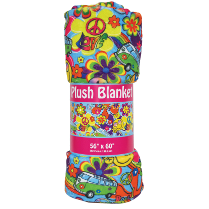 Picture of Hippie Love Plush Blanket