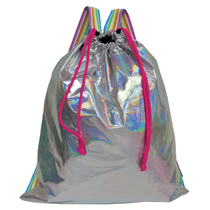 Picture of Holographic Drawstring Bag