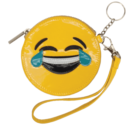 Picture of Happy Tears Emoji Purse Key Chain