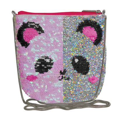 Picture of Panda Sequin Crossbody Bag
