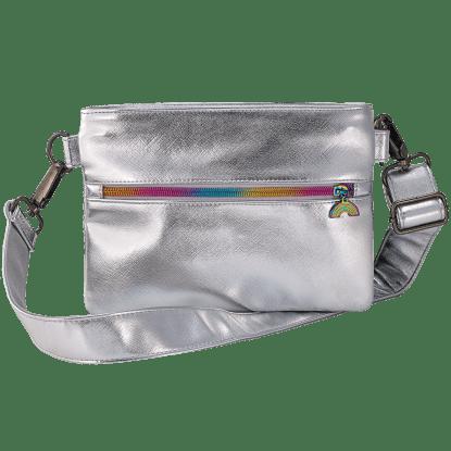 Picture of Silver Metallic Belt Bag
