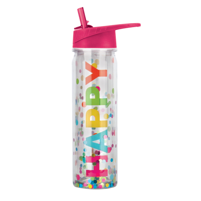 Picture of Happy Confetti Water Bottle