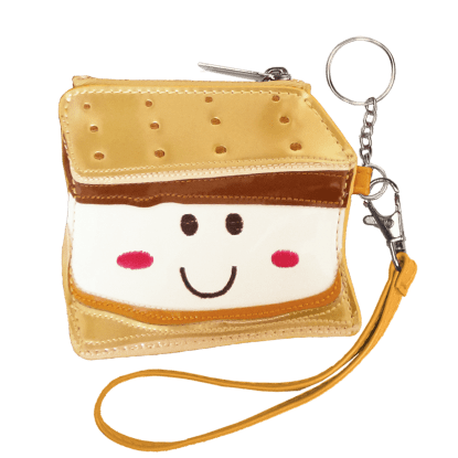 Picture of Smiley S'more Purse Key Chain