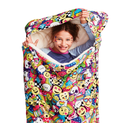 Picture of Emoji Party Sleeping Bag