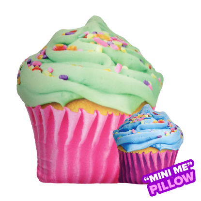 Picture of Mini Celebration Cupcake Scented Microbead Pillow