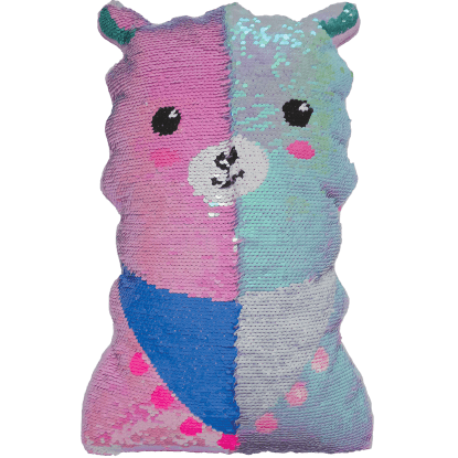 Picture of Llama Reversible Sequin Pillow
