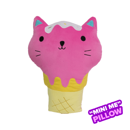 Picture of Mini Kitty Cone Scented Foodie Pillow