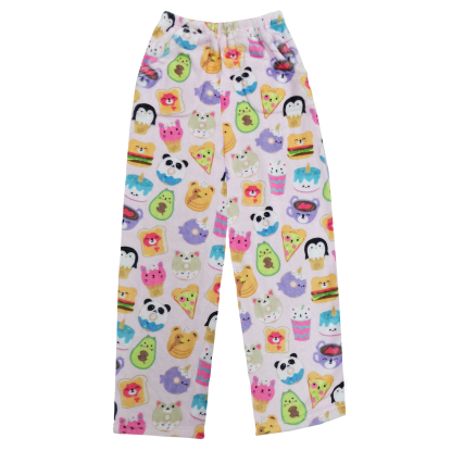 Picture of Foodie Animals Plush Pants