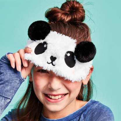 Picture of Panda Furry Eye Mask