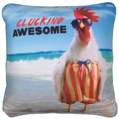 Picture of Avanti™ Clucking Awesome Microbead Pillow