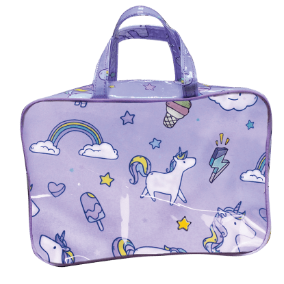Picture of Unicorn Wishes Large Cosmetic Bag
