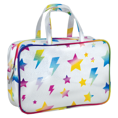Picture of Stars and Lightning Large Cosmetic Bag