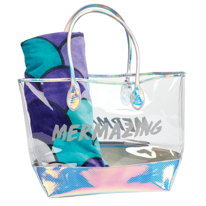 Picture of Mermaizing Clear Tote Bag