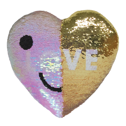 Picture of LOVE Reversible Sequin Pillow