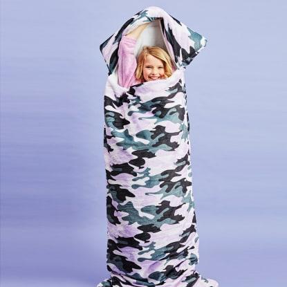 Picture of Purple Camo Sleeping Bag