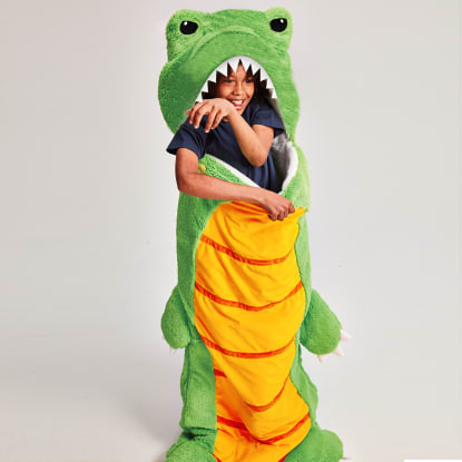 Picture of Dinosaur Furry Sleeping Bag