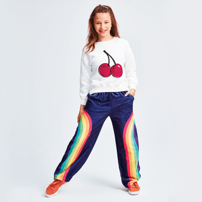 Picture of Rainbow Plush Pants