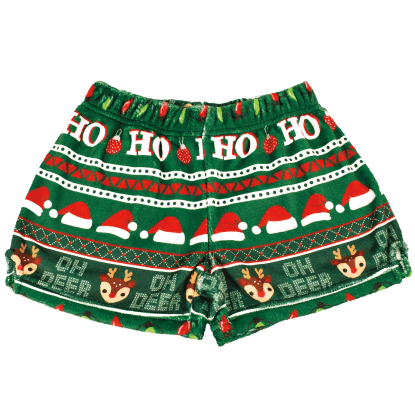 Picture of Ho Ho Ho Plush Shorts