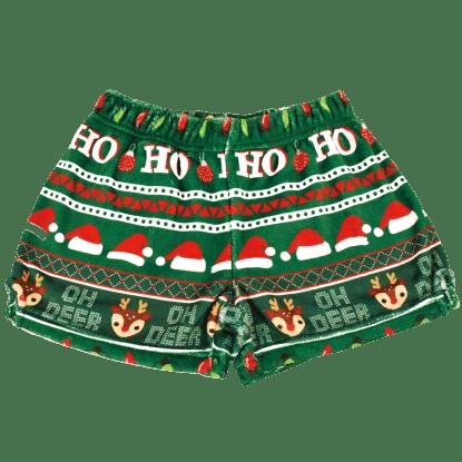 Picture of Ho Ho Ho Plush Shorts
