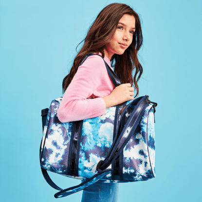 Picture of Blue Tie Dye Duffle Bag