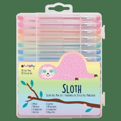 Picture of Sloth Gel Pen Set
