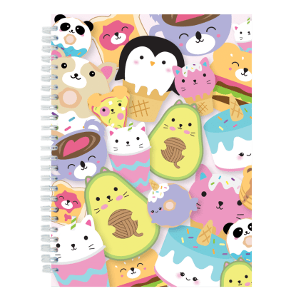 Picture of Foodie Animals 3D Journal