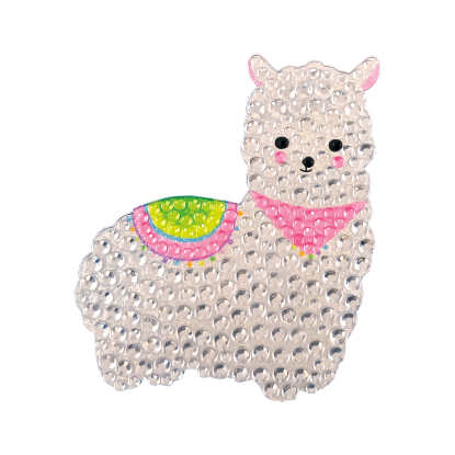 Picture of Llama Rhinestone Decals Small