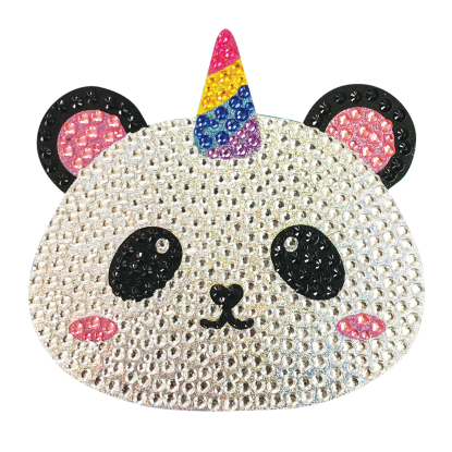 Picture of Pandacorn Rhinestone Decals Large