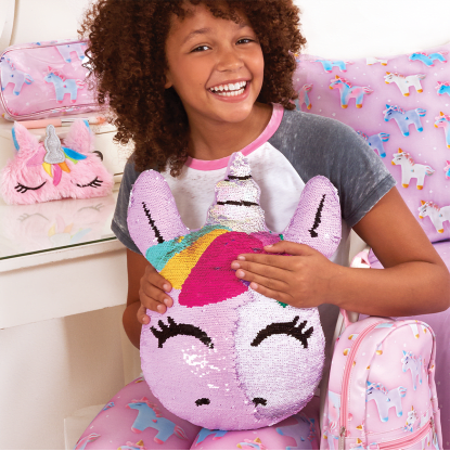 Picture of Unicorn Reversible Sequin Pillow