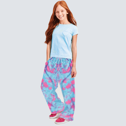 Picture of Sherbet Tie Dye Plush Pants