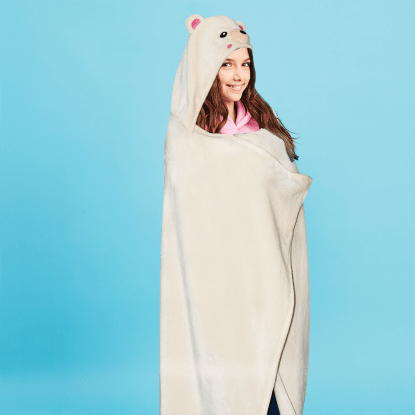 Picture of Bear Hooded Blanket