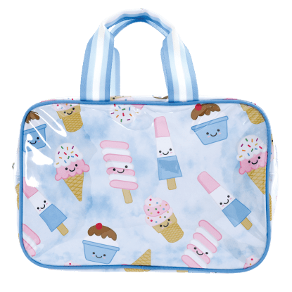 Picture of Ice Cream Treats Large Cosmetic Bag