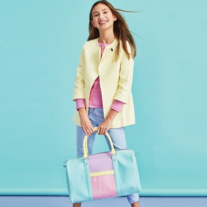 Picture of Color Block Duffle Bag