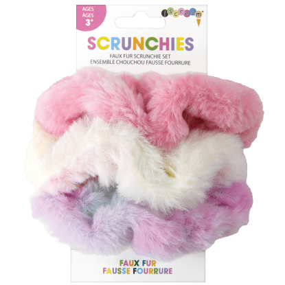 Picture of Faux Fur Scrunchie Set