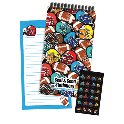 Picture of Football Seal & Send Stationery