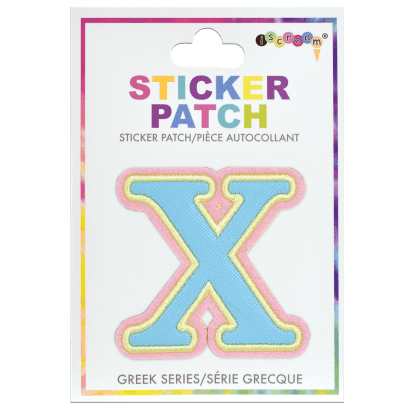 Picture of Chi Greek Letter Sticker Patch