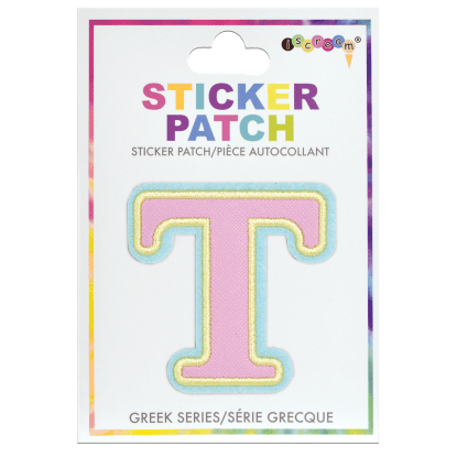 Picture of Tau Greek Letter Sticker Patch