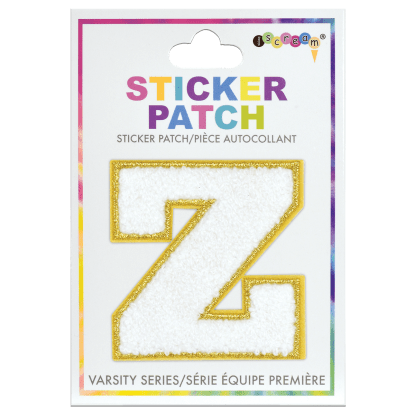 Picture of Z Initial Varsity Sticker Patch