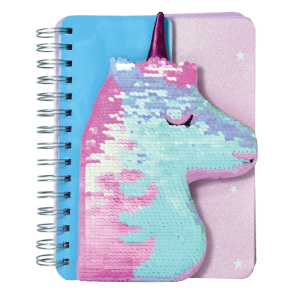 Picture of Unicorn Reversible Sequin Journal