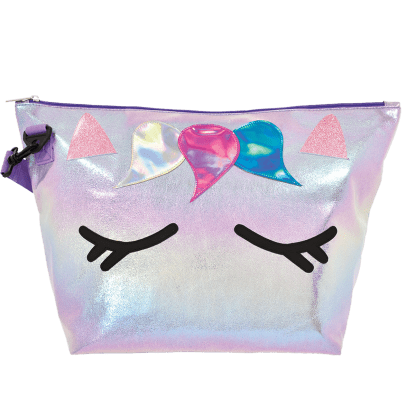 Picture of Unicorn Iridescent Overnight Bag