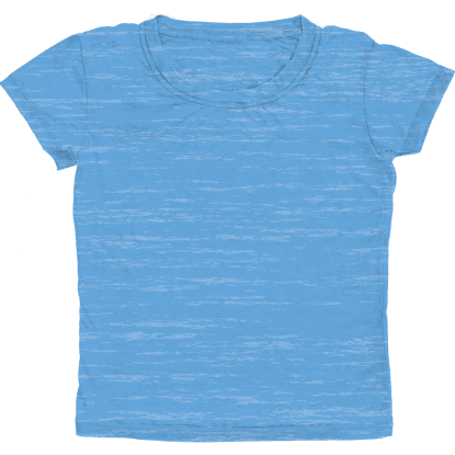 Picture of Burnout Blue T-Shirt