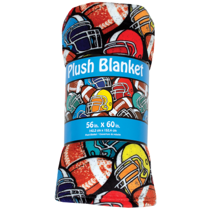 Picture of Football Plush Blanket